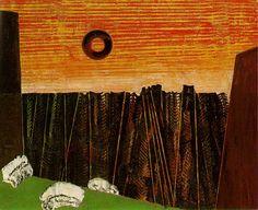 Max Ernst - Fishbone Forest, 1927