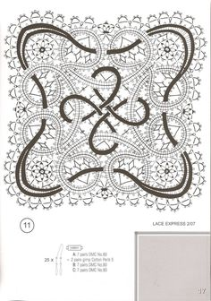 Архив альбомов Bobbin Lace Patterns, Crochet Patterns, Lace Embroidery, Embroidery Patterns, Irish Crochet, Crochet Lace, Romanian Lace, Bobbin Lacemaking, Bruges Lace