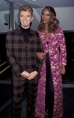 The love story of Iman and David Bowie, through the years
