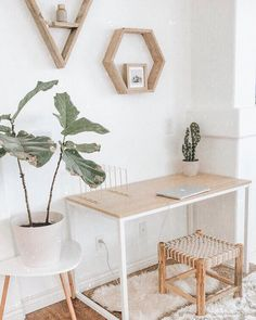 home office inspiration 911 Likes, 60 Comments - ↠ Bethany M. Poteet ↠ (Bethany M Poteet) on Instagr Interior Design Photos, Office Interior Design, Home Office Decor, Home Decor, Office Ideas, Cool Office Space, Decoration Inspiration, Work Inspiration, Decor Ideas