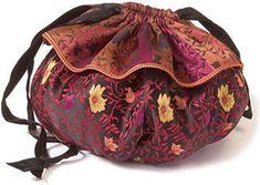 Free Bag Pattern and Tutorial - Drawstring Bag