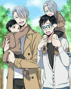 Yuri on ice <<< every time i see fanarts like this, i wonder how it's possible