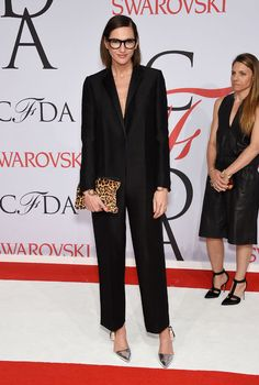 Kim Kardashian West's Newest Maternity Look and More from the 2015 CFDA Awards Red Carpet