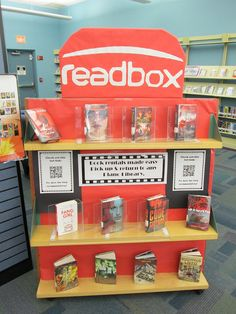 """Readbox"" in Teen/Young Adult area. Library display at Harrington branch - Plano Library, via Flickr."
