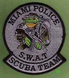Miami Police SWAT Scuba Team