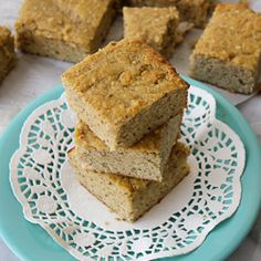 """""""Corn"""" Bread made with Almond and Coconut Flour! And a secret ingredient that gives it a little crunch... (#Grain-Free, #Paleo, #gluten-free)"""