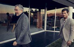 Ermenegildo Zegna 'Defining Moments' Starring Robert De Niro | Opulent Club