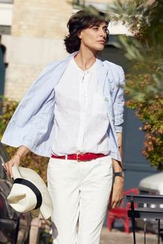 Ines de la Fressange collaborates with Uniqlo, and you'll be able to buy it