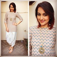 Hair and beauty Sonakshi sinha outfits, Sonakshi sinha indian wear, Sonakshi sinha kalank Lehenga, Anarkali, Kurta Designs, Churidhar Designs, Indian Attire, Indian Ethnic Wear, India Fashion, Ethnic Fashion, Saris