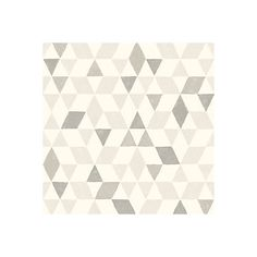 Scandi Triangles Soft Grey Geometric Wallpaper | Departments | DIY at B&Q