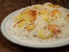 Orez+iranian Iranian rice Buffet, Grains, Rice, Cooking Recipes, Pasta, Food, Chef Recipes, Essen, Eten