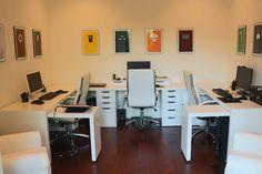 Best ikea malm desk setups images desk setup ikea malm desk