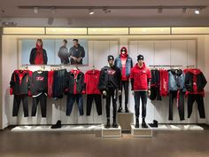 2018 Spring Collection ~ Men's Instore Display