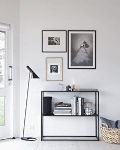 | gm | our Domo black sideboard at so talented @stylizimoblog beautiful home | love the way she makes magic with it | #domodesign #svensktillverkat