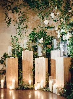 Wedding ceremony seating backdrops Ideas for 2019 Wedding Ceremony Seating, Wedding Reception Backdrop, Seating Chart Wedding, Seating Charts, Wedding Entrance, Wedding Venues, Wedding Table Garland, Card Table Wedding, Wedding Reception Decorations
