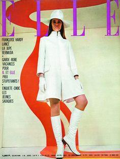 Elle Magazine, Vogue Magazine Covers, Fashion Magazine Cover, Fashion Cover, Vogue Covers, Magazine Design, Magazine Rack, 60s Vintage Clothing, Vintage Mode