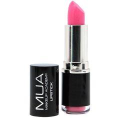 Lipstick Shade 4 MUA (€0,88) ❤ liked on Polyvore featuring beauty products, makeup, lip makeup, lipstick, beauty, lips, cosmetics and lips makeup