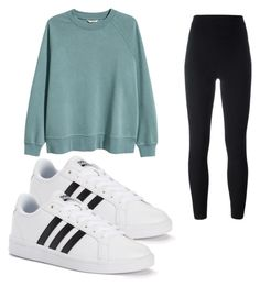 """Untitled #17"" by kayleemaelong on Polyvore featuring H&M, adidas Originals and adidas"