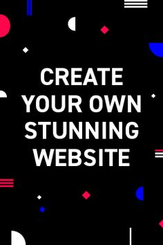 Need a website? Create your own - it's easy & free! How To Start A Blog, How To Make Money, Create Website, Be Your Own Boss, Your Turn, Buisness, Money Matters, Starting A Business, Cool Websites