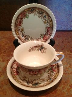 Johnson Brothers Devonshire Teacup Saucer & Bowl 3 by HeartFinds, $29.99