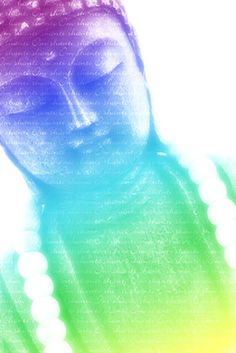 Coloured Buddha