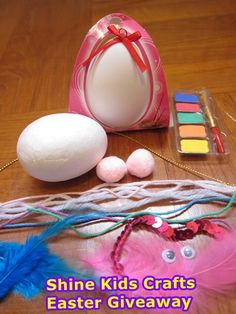 1 day left only!! 2016 Giveaway (2) - Two Easter Egg Decoration Craft Kits (26 Feb - 10 March 2016)