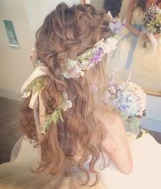アレンジダウン. #kumikoprecious #hawaii #hawaiiwedding #weddinghair #wedding #bride #hair #hairmake #hairstyle #hairarrange #downstyle #hakulei #ハワイ #ハワイ挙式 #ハワイウェディング #ウェディング #結婚式 #花嫁 #プレ花嫁 #おしゃれ花嫁 #ヘアメイク #ヘアスタイル #ヘアアレンジ #ルーズ #ダウンスタイル #波ウェーブ #花冠