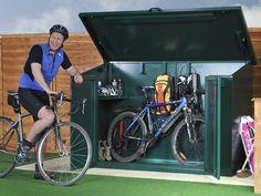 Bike Storage x4 - Store 4 bikes safely, best idea I've seen for bike storage