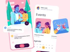 Ui Design, Mobile App, Family Guy, Dating, Marketing, Comics, Studio, Illustration, Fictional Characters
