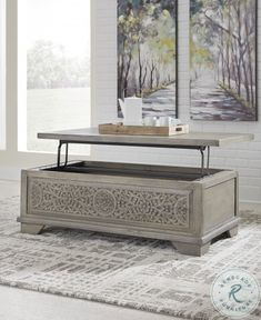 Online Furniture Stores, Furniture Manufacturers, My Furniture, Modern Furniture, Painted Furniture, Fairfield Furniture, Lift Top Coffee Table, Signature Design, Cocktail Tables