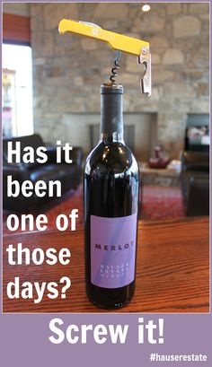 Bad day? #Winemakesitbetter
