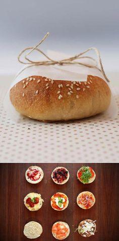Homemade Mini Bagels