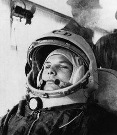 """Soviet Cosmonaut: Yuri Gagarin """"1st Man in Space"""""""