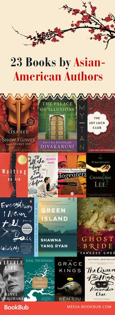 Some great books by Asian-American authors. Great ideas for your book club to read together!