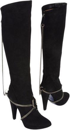 Jean Paul Gaultier High Heeled Boots #shoes, #fashion, #pinsland, https://apps.facebook.com/yangutu