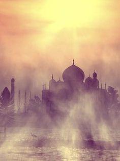 In The Mist, Taj Mahal, India