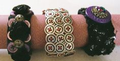 Elastic stretch button bracelets!