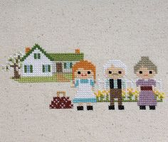 Green Gables Cross Stitch: Anne of Green Gables by petalpusher