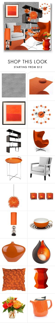 """""""Interior"""" by marionmeyer ❤ liked on Polyvore featuring interior, interiors, interior design, home, home decor, interior decorating, NLXL, Vitra, Modloft and Eichholtz"""