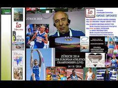 STIVOS+SPOR: KAROLOS SARGOLOGOS – ZÜRICH 2014: EUROPEAN ATHLETICS CHAMPI... Athletics, Baseball Cards