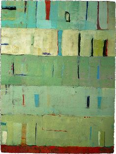 Kathleen Waterloo, Artist, Taipa 2005 Encaustic/panel