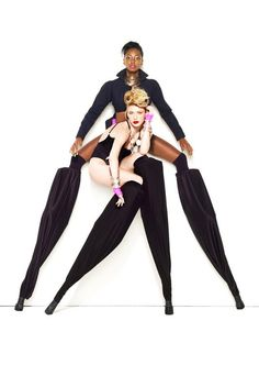 more ANTM photoshoot with stilts. So cool!