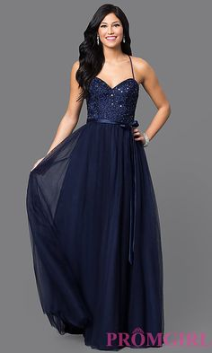 Embroidered Long Mori Lee Prom Dress with Bow