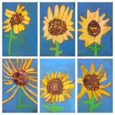 Exploring Art: Elementary Art: 1st Grade Sunflowers