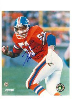 Autographed Randy Gradishar Denver Broncos 8x10 Photo