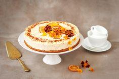 Irish cream-appelsiinikakku Irish Cream, 20 Min, Pavlova, Easter Recipes, Cheesecakes, Panna Cotta, Deserts, Pudding, Baking