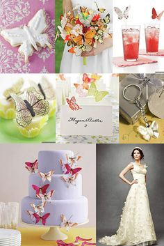 Butterfly Brides; perfect for spring weddings or if you are a butterfly lover!