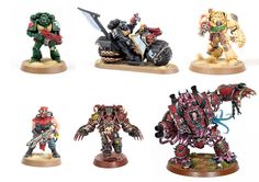Tutorial Collection: How to Paint Dark Vengeance Chaos and Dark Angels - Tale of Painters