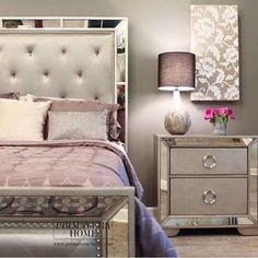 Marais Mirrored Furniture Collection | Furniture sets, Mirrored ...