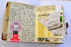 #papercraft #artjournaling Art journal